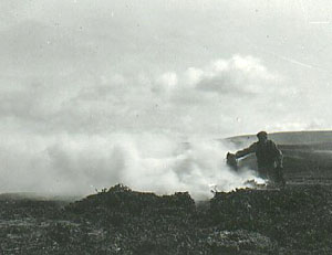 Burning Kelp in the Orkneys 1900