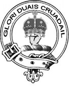 Crest Badge Gordon Stewart Duncan - Click larger image.