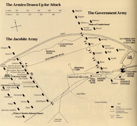 Map of the Battle - Click for Larger Image