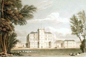 Gordon Castle Fochebers 1830 print
