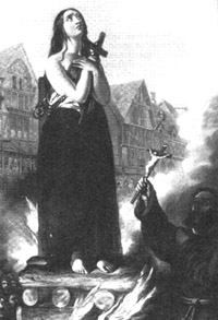 Witch Burning at the Stake
