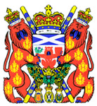 The Lord Lyon's Official Coat of Arms