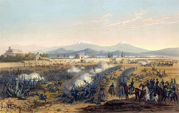 Battle of Molino del Rey 1847
