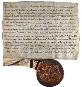 Click for Larger Image. Duncan II Scottish Royal Charter