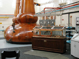 A Modern Whisky Distillery today.
