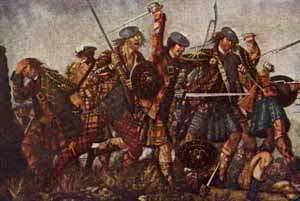The Battle of Culloden by David Morier circa 1745